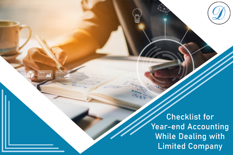 Checklist For Year-End Accounting - Limited Company